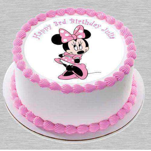 Lavish Minnie Designed Cake for Little One