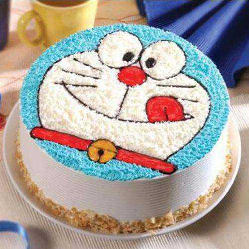 Heavenly Doremon Egg-less Cake for Little One