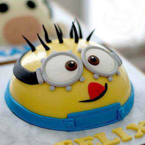 Sensational Minion Smash Cake with Hammer For Kids