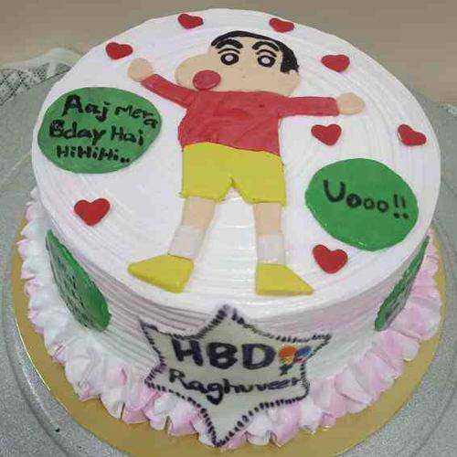 Sugar-Encrusted Nobita Cake for Kids
