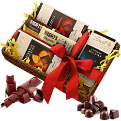 Scrumptious Chocolates Gift Basket