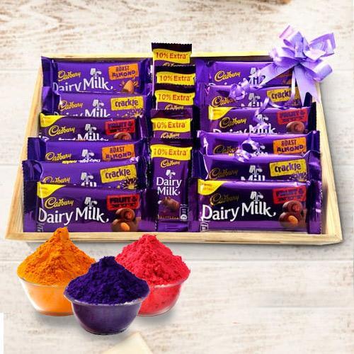 Exclusive Cadburys Holi Gift Hamper