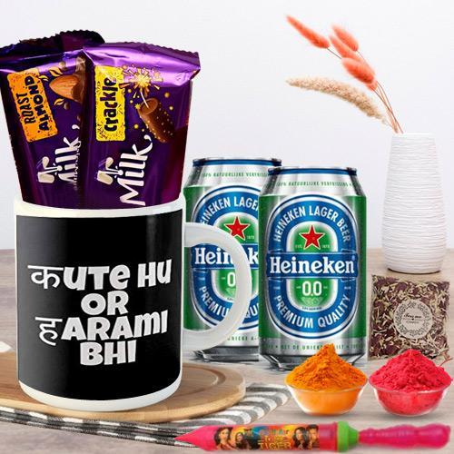 Impressive Holi Gifts - Teasing Quote Coffee Mug n Gifts