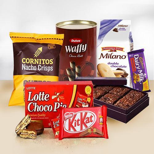 Sweet Delight Chocolate Gift Hamper