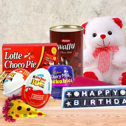 Sweet Flavors Chocolate Gift Hamper