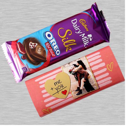 Personalized Cadbury Dairy Milk Silk Oreo Red Velvet Chocolate