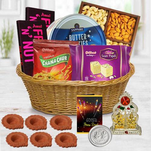 Exclusive Assortments Gift Hamper for Diwali