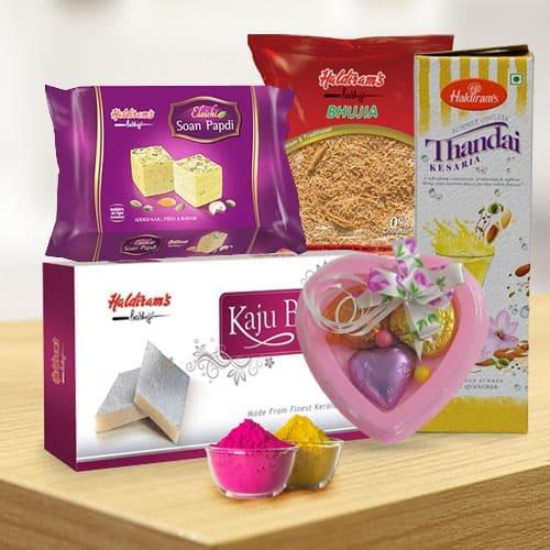 Tasty Haldirams Gift Hamper for Holi