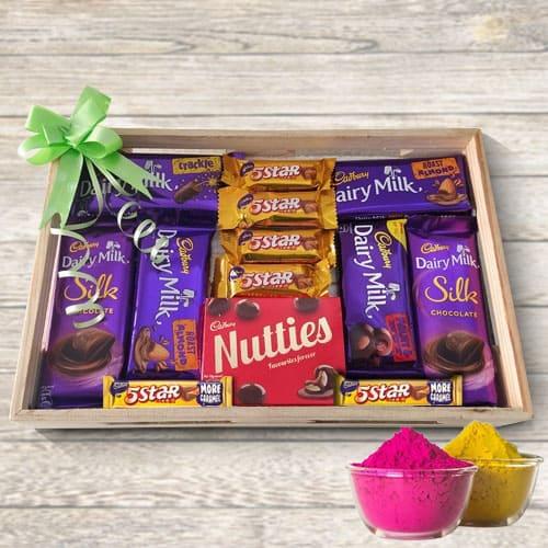 Yummy Mixed Chocolates Gift Tray