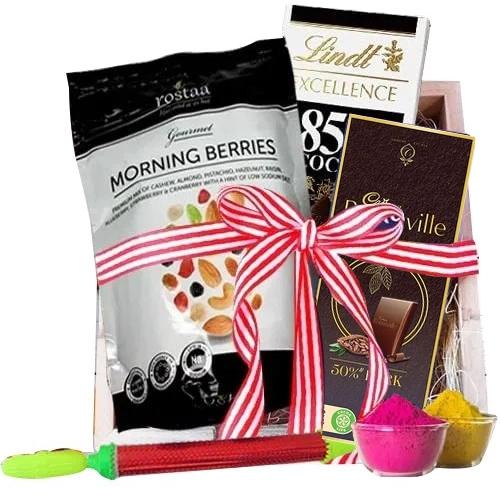 Luscious Chocolates Gift Hamper for Holi