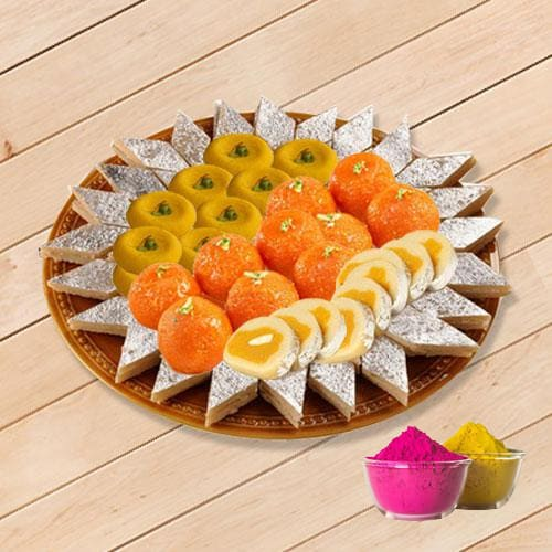 Scrumptious Assorted Sweets from Bhikaram