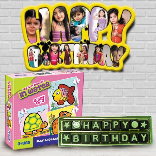 Wonderful Personalized Kids Birthday Gift Combo
