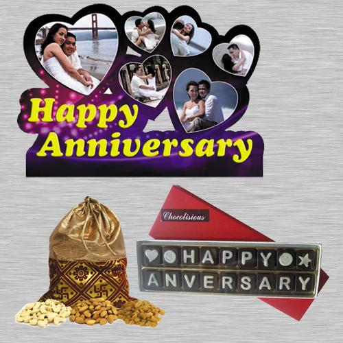 Striking Personalized Gift Combo for Anniversary