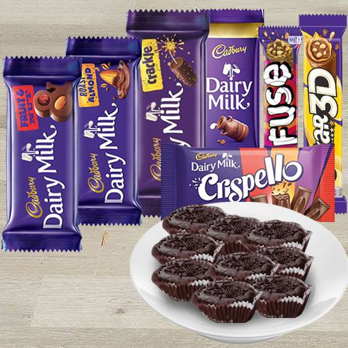 Zesty Balaram Mallick Choclava n Cadbury Chocolates Gift Hamper