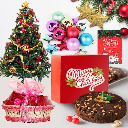 Refreshing Christmas Gift Hamper with Festive Flavour