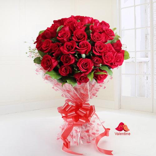 Flaming Devotion Valentine Token