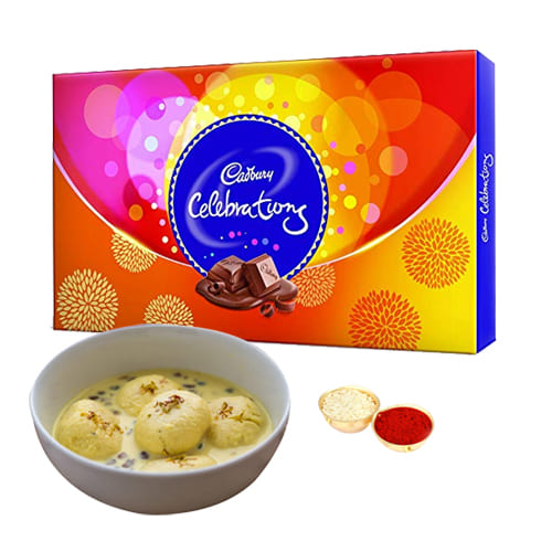 Delicious Rasmalai N Cadbury Celebrations Pack