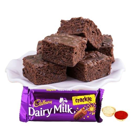 Sumptuous Brownie N Cadbury Crackle