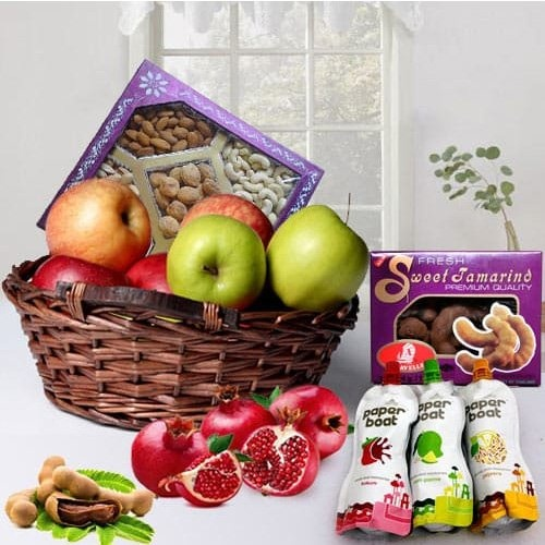 Fruits N Nuts Hamper for Moms Surprise