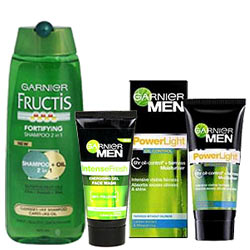 Wonderful Garnier Bathing Gift Hamper for Men