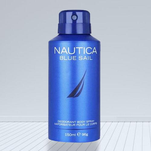 Zesty Looking Nautica Blue Deodorant