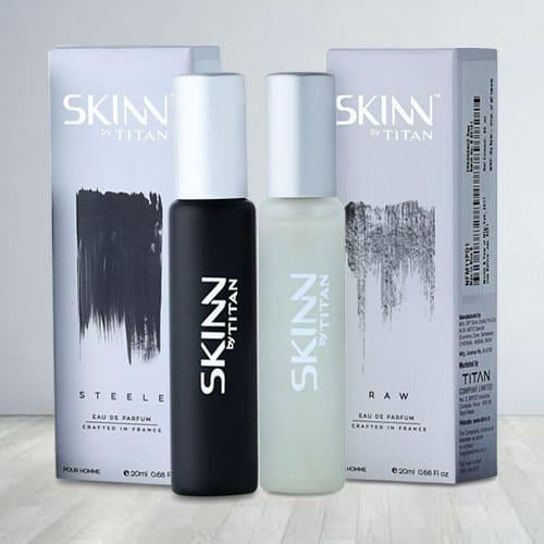 Exquisite Titan Skinn Raw Fragrances for Men