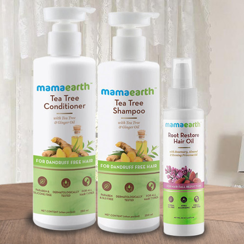 Marvelous Mama Earths Hair N Care Hamper