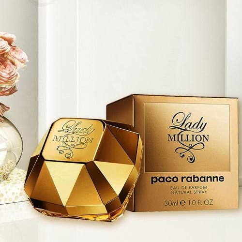 Exclusive Gift of Paco Rabanne Lady Million Eau de Perfume