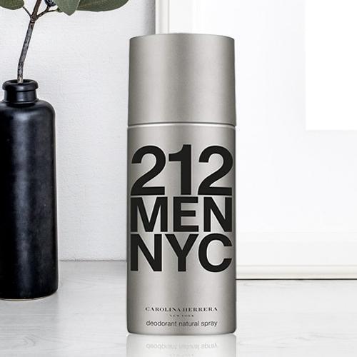 Aromatic Carolina Herrera Mens 212 NYC Deodorant