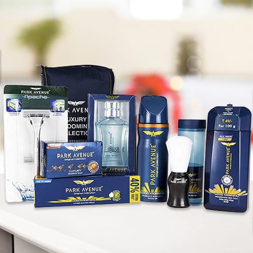 Luxurious Park Avenue Mens Grooming Kit