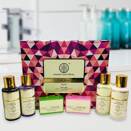 Appealing Khadi Natural Skin N Hair Care Gift Pack
