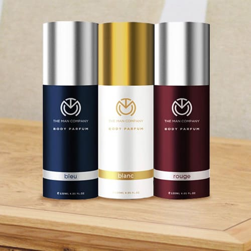 Musky The Man Company Body Perfume Trio Deodorant Set for Men