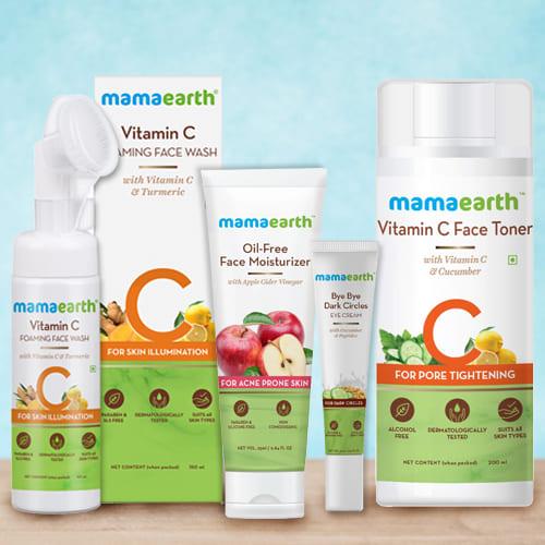 Fabulous Mamaearth Face Care Hamper