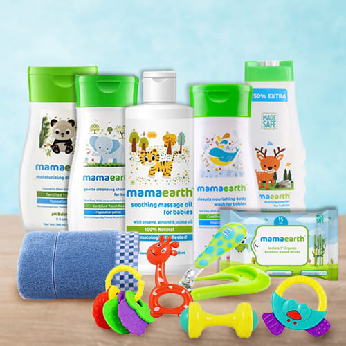 Complete New Born Baby Care Hamper from Mamaearth