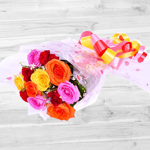 From the Heart Rose Bouquet
