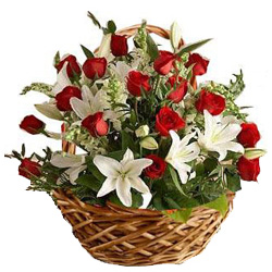 Basket of Breathtaking Flowers