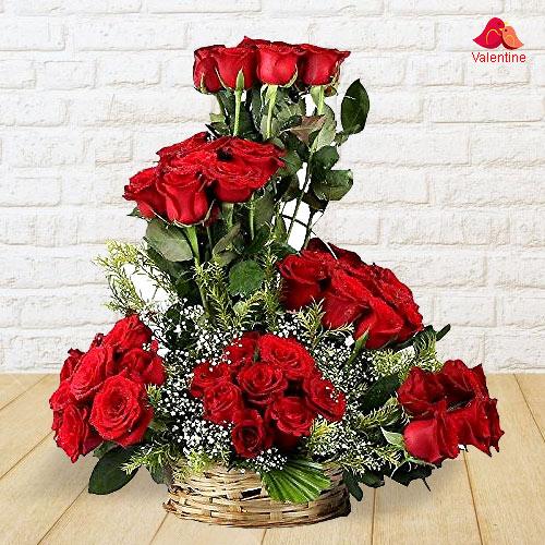 Constant Fervency Valentine's Day Rose Assortment