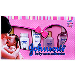 Johnson and Johnson-Baby Care Collection Deluxe (Pack of 5)