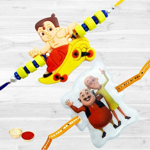 Sweet Emotions with Two Rakhis for Children