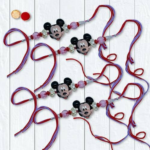Remarkable Mickey Mouse Rakhi Set