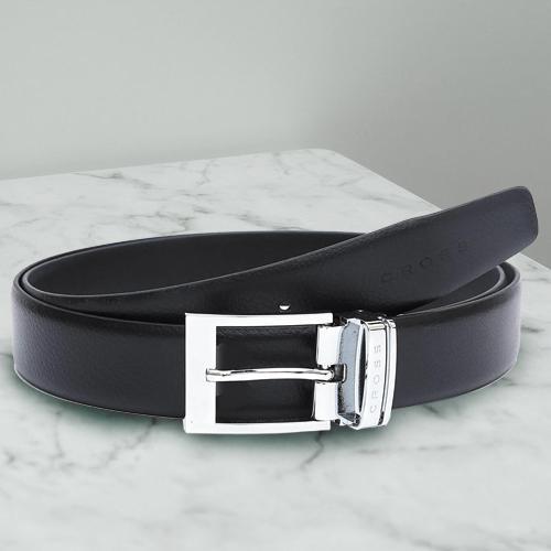 Remarkable Cross Leather Belt for Men