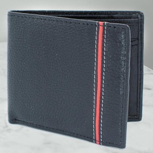 Marvelous Gents Black Color Leather Wallet