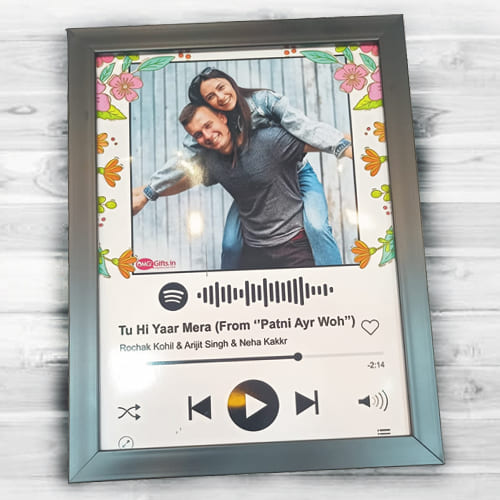 Wonderful Personalized Music Photo Frame