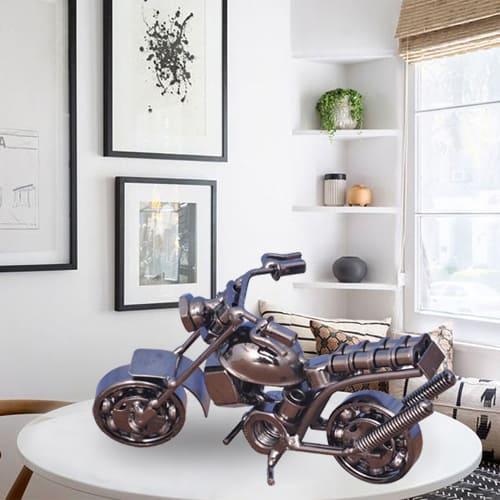 Creative Metal Handmade Vintage Motor Bike