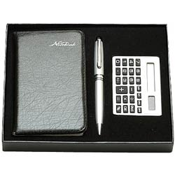 Amazing Diary Gift with Calculator and Pen Gift Set
