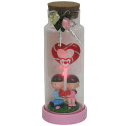 Amazing Jar of Heart Shaped Lollipop