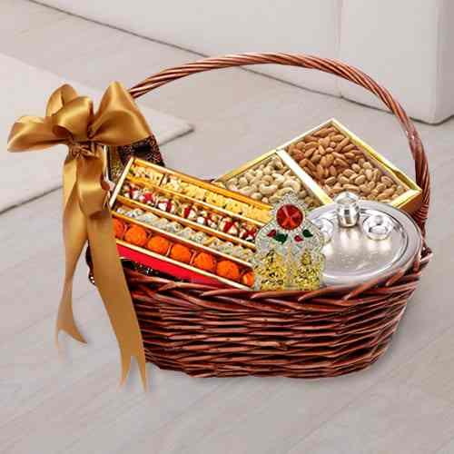 Puja Special Haldiram Sweets Basket