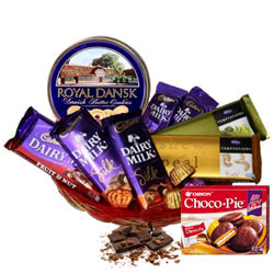 Amazing Festive Carnival Chocolate Hamper