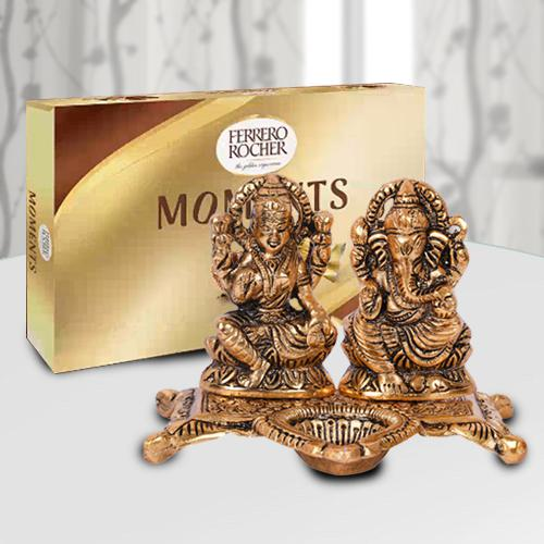 Marvelous Diwali Decoration Items with Ferrero Rocher