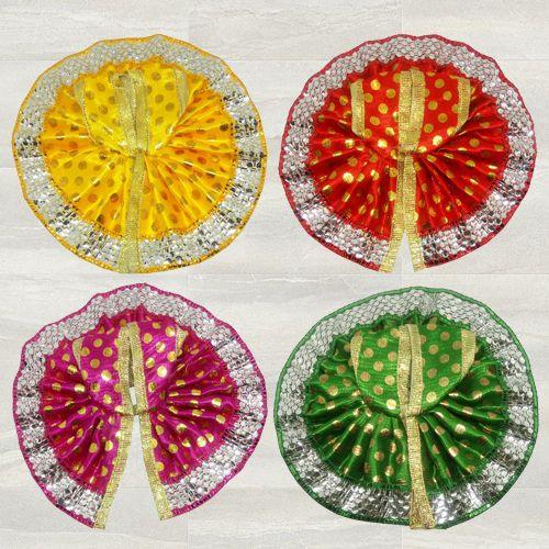 Remarkable Set of 4 Dresses for Laddu Gopal